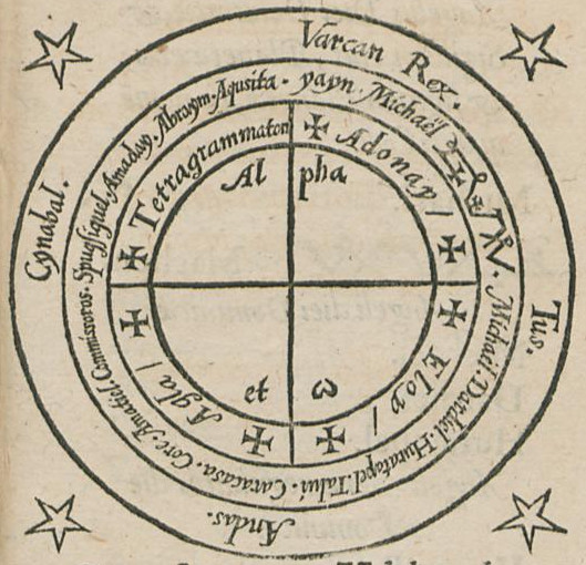 Image result for magic circle heptameron