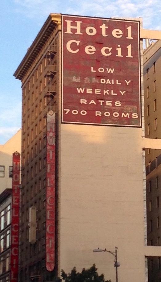 Cecil Hotel Los Angeles Haunted