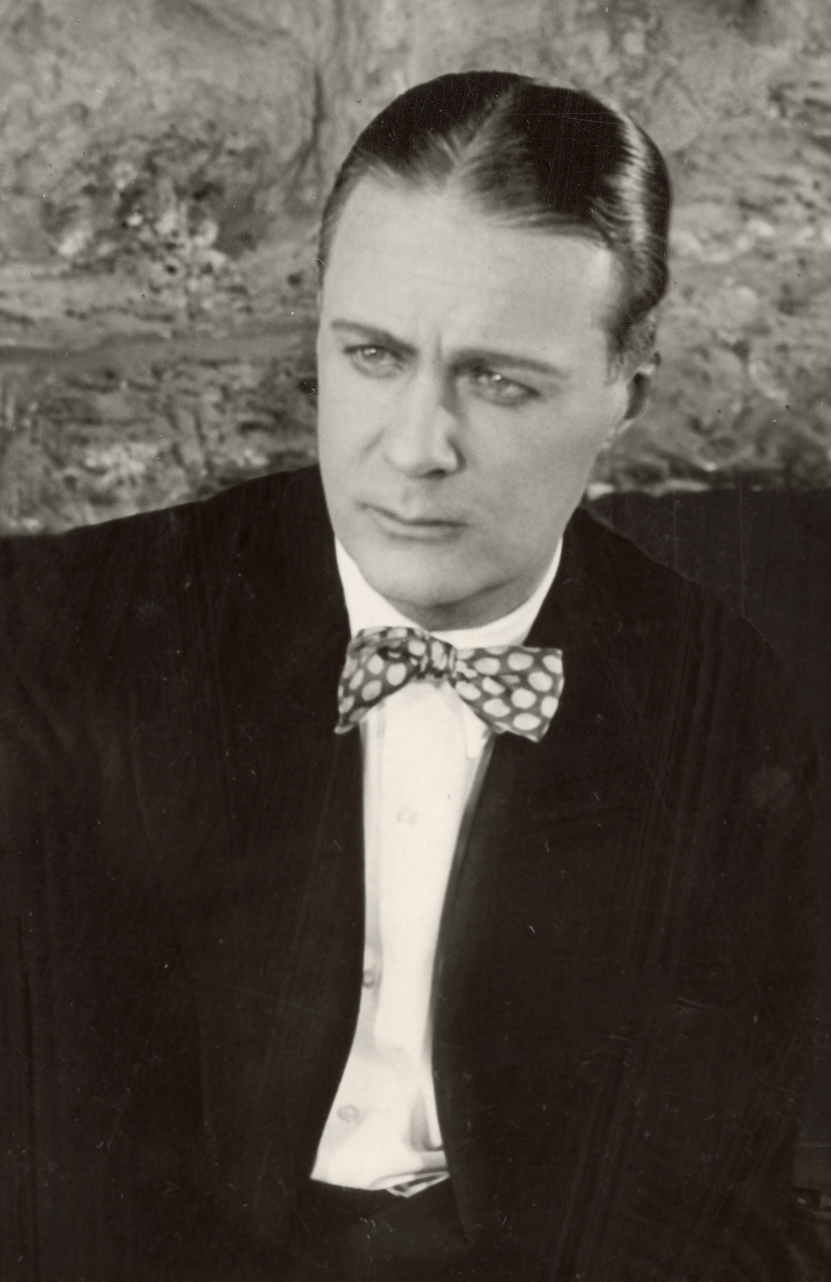 Huntley Gordon from a scene still for the 1918 Vitagraph silent drama The Beloved Imposter