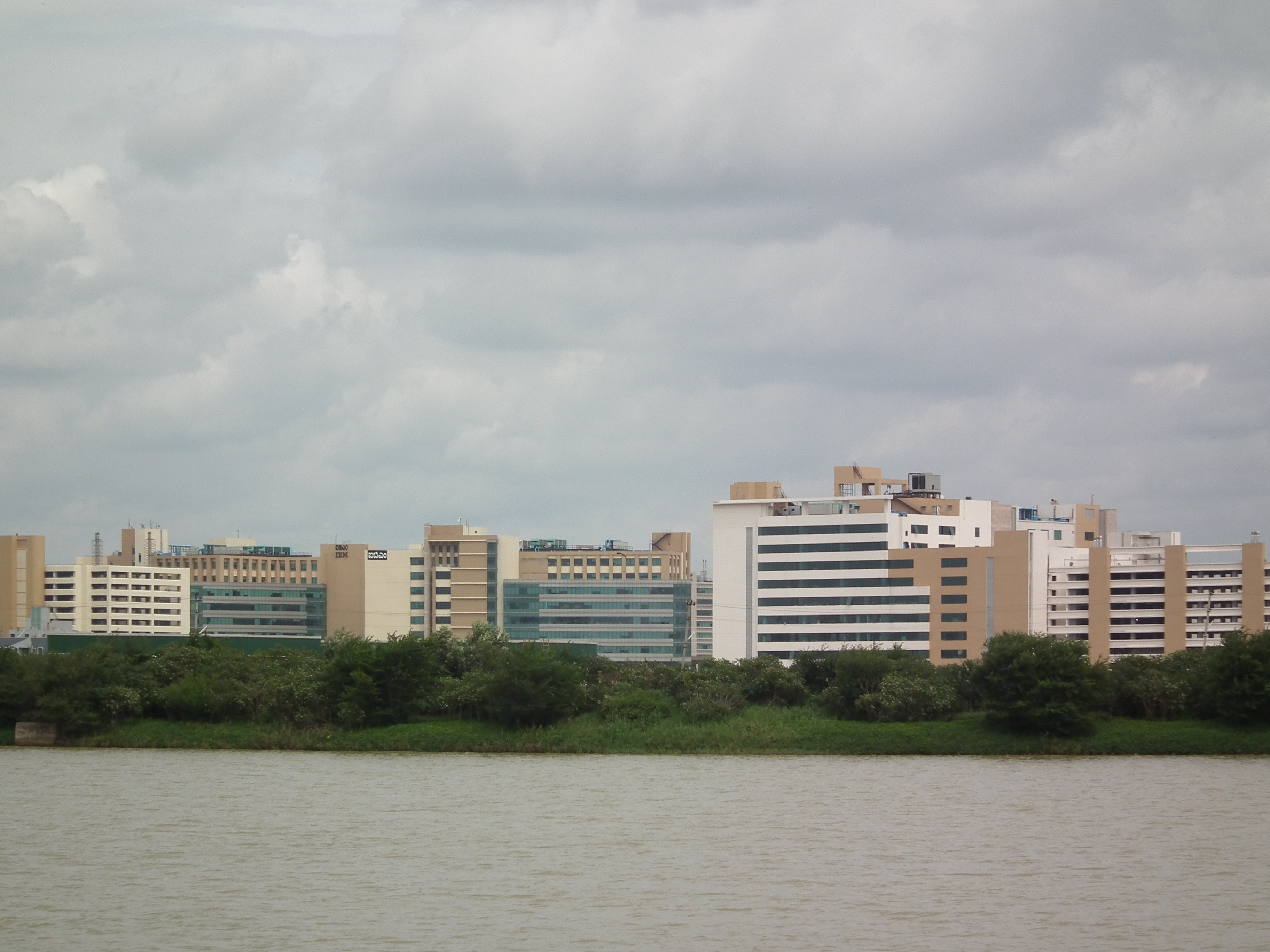 File:IBM Manyata Office   View From Lumbini Garden 3.JPG