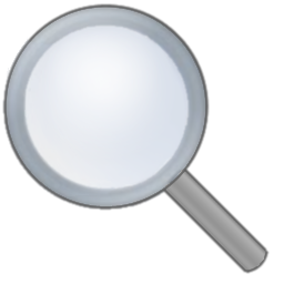 File Icon Transparent Loupe 256x256 Png Wikimedia Commons
