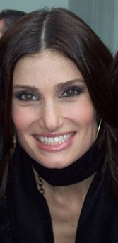 English: Singer/actress Idina Menzel outside t...
