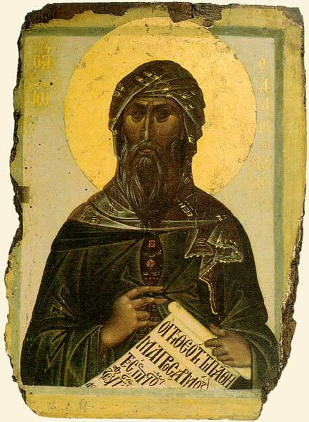 Ioann_Damaskin_ikona Всемирното Православие - ЖИТИЕ НА СВ. ЙОАН ДАМАСКИН
