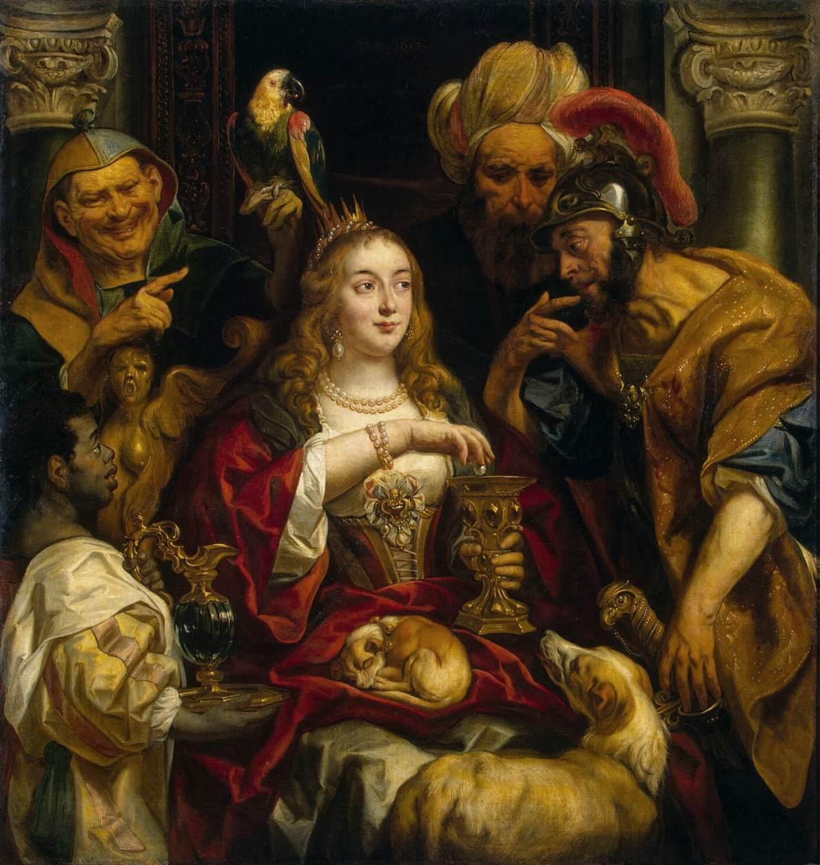 Файл:Jacob Jordaens - Cleopatra's Feast - WGA11990.jpg