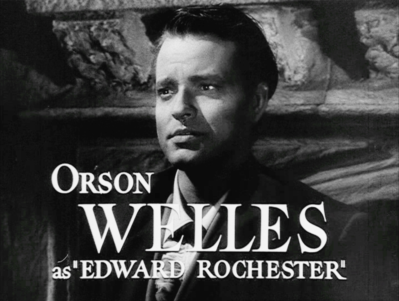 Orson Welles as Edward Rochester in the 1943 film adaptation.