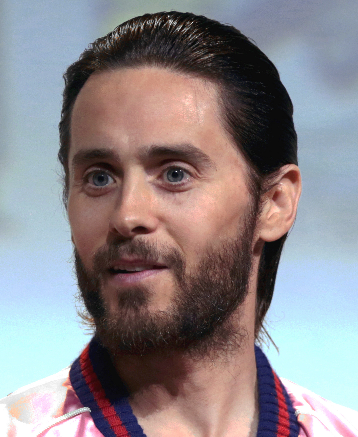 Jared leto girl interupted congratulate, this