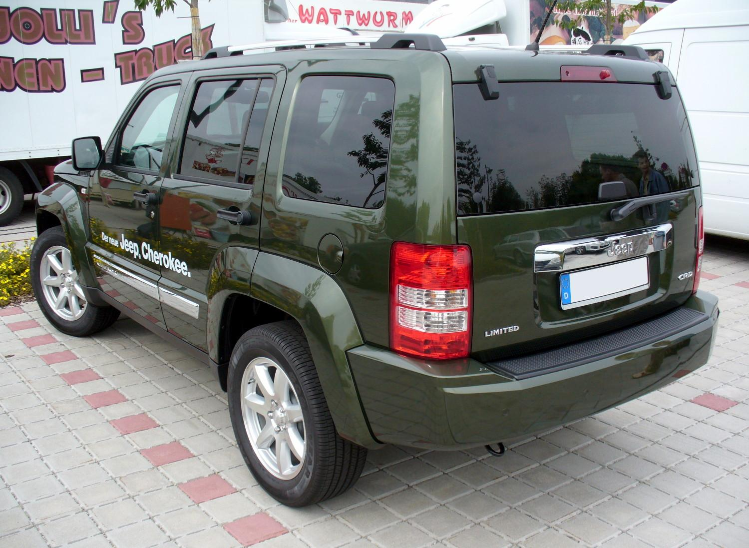 file jeep cherokee limited 2 8 crd jeepgreen heck jpg. Black Bedroom Furniture Sets. Home Design Ideas