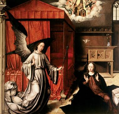 Joos van cleve the annunciation essay help