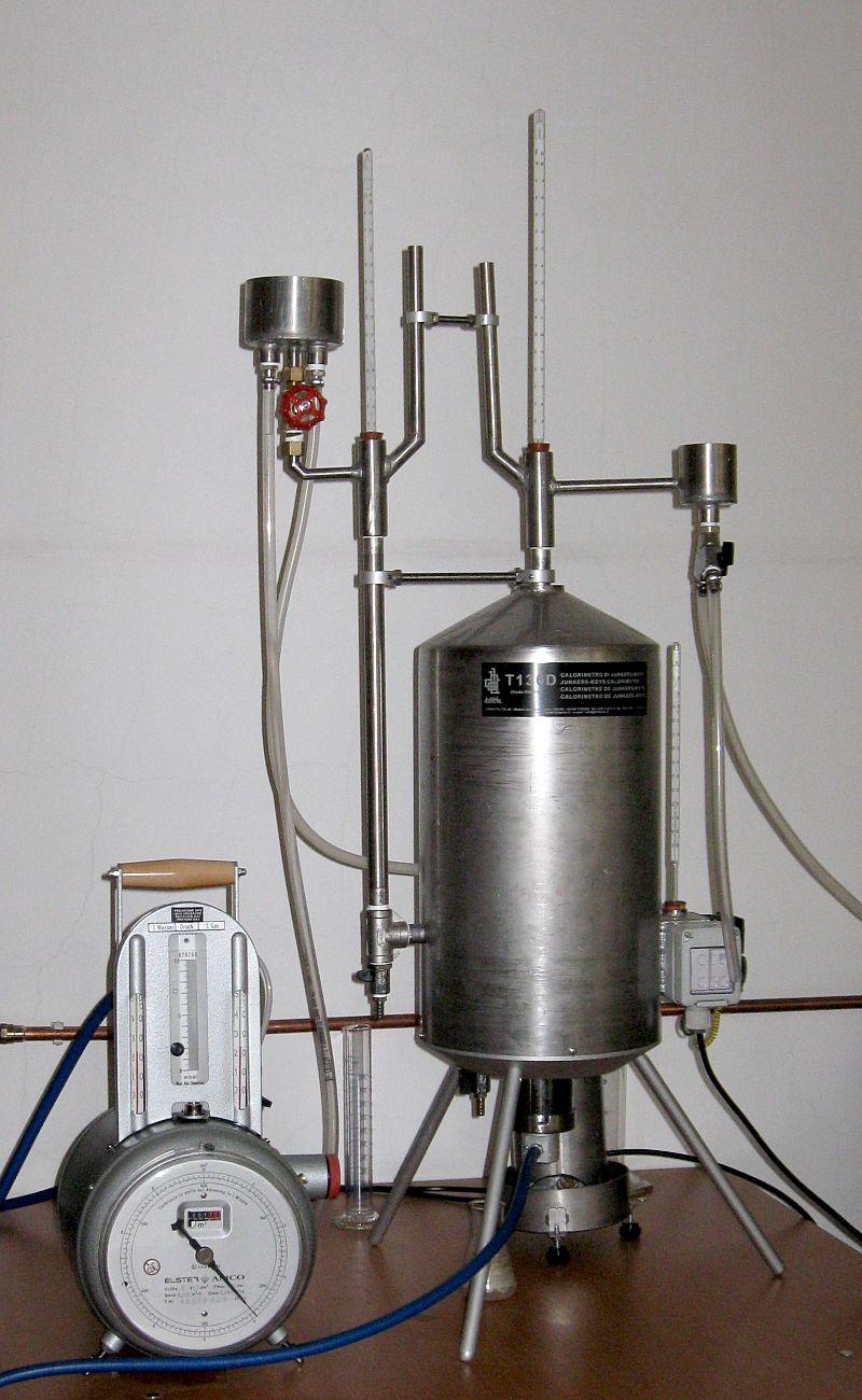 the boys gas calorimeter