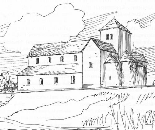 Церковь Иустина Римского в 850 году.