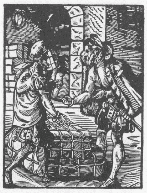 Trader in Germany, 16th century