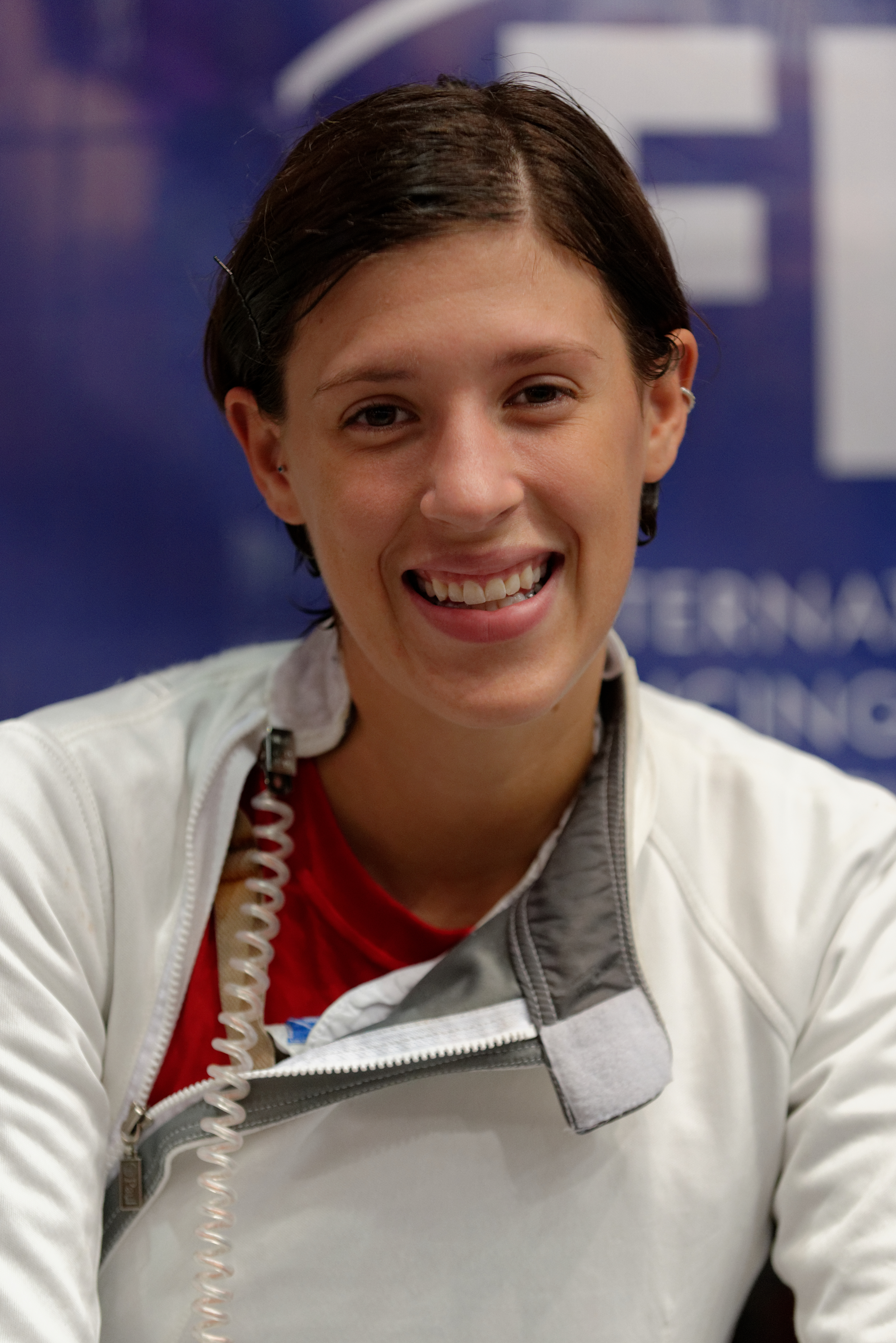 Hurley at the [[2013 World Fencing Championships]]