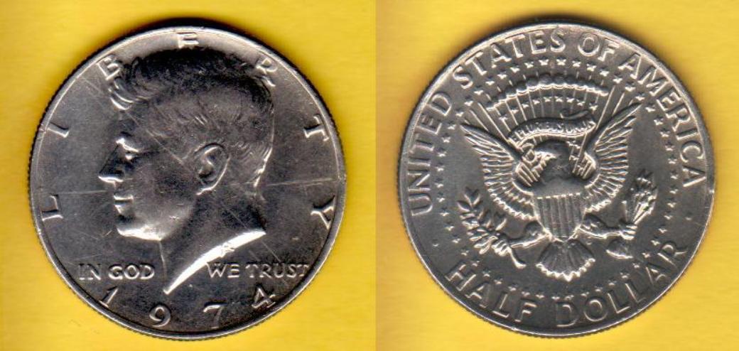 File:Kennedy Half Dollar, 1974.JPG - Wikimedia Commons