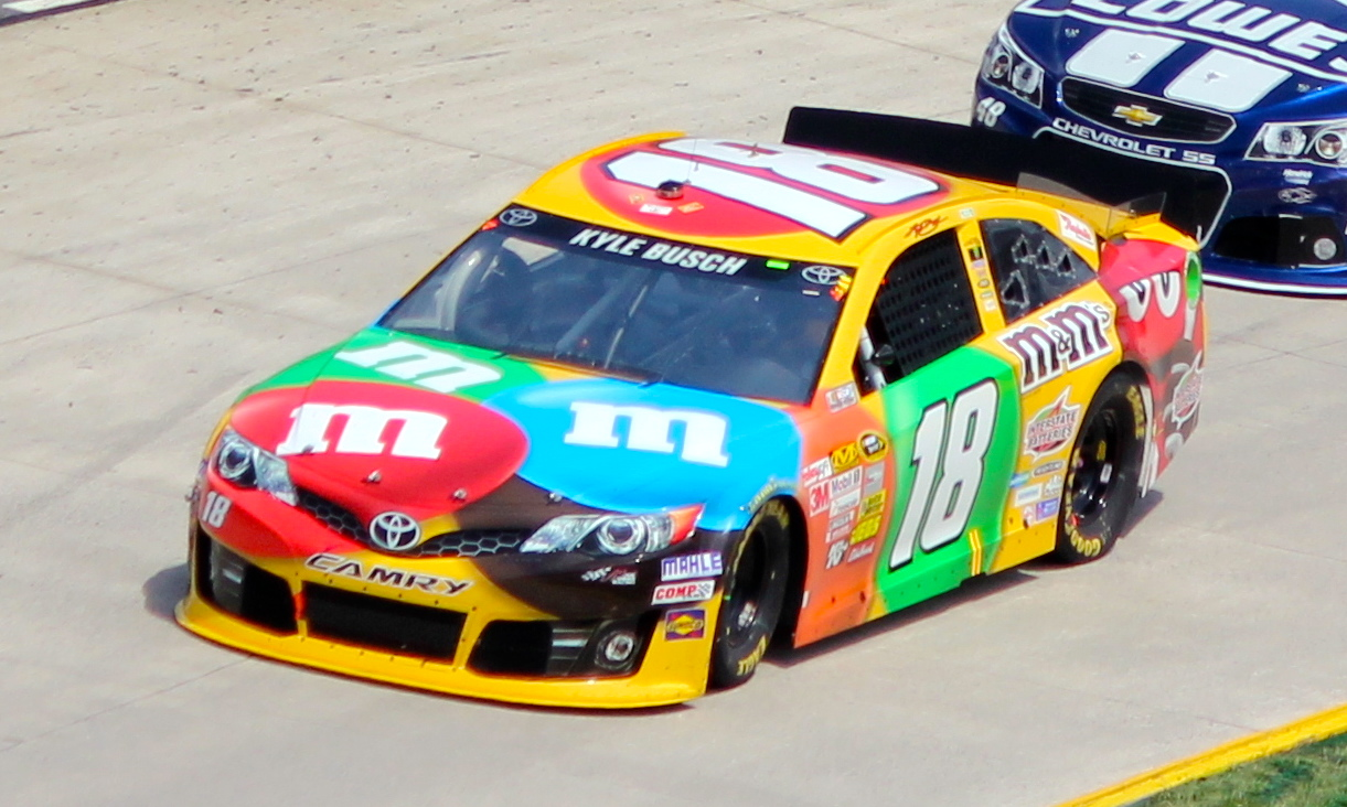 File Kyle Busch Stp Gas Booster Jpg Wikimedia Commons