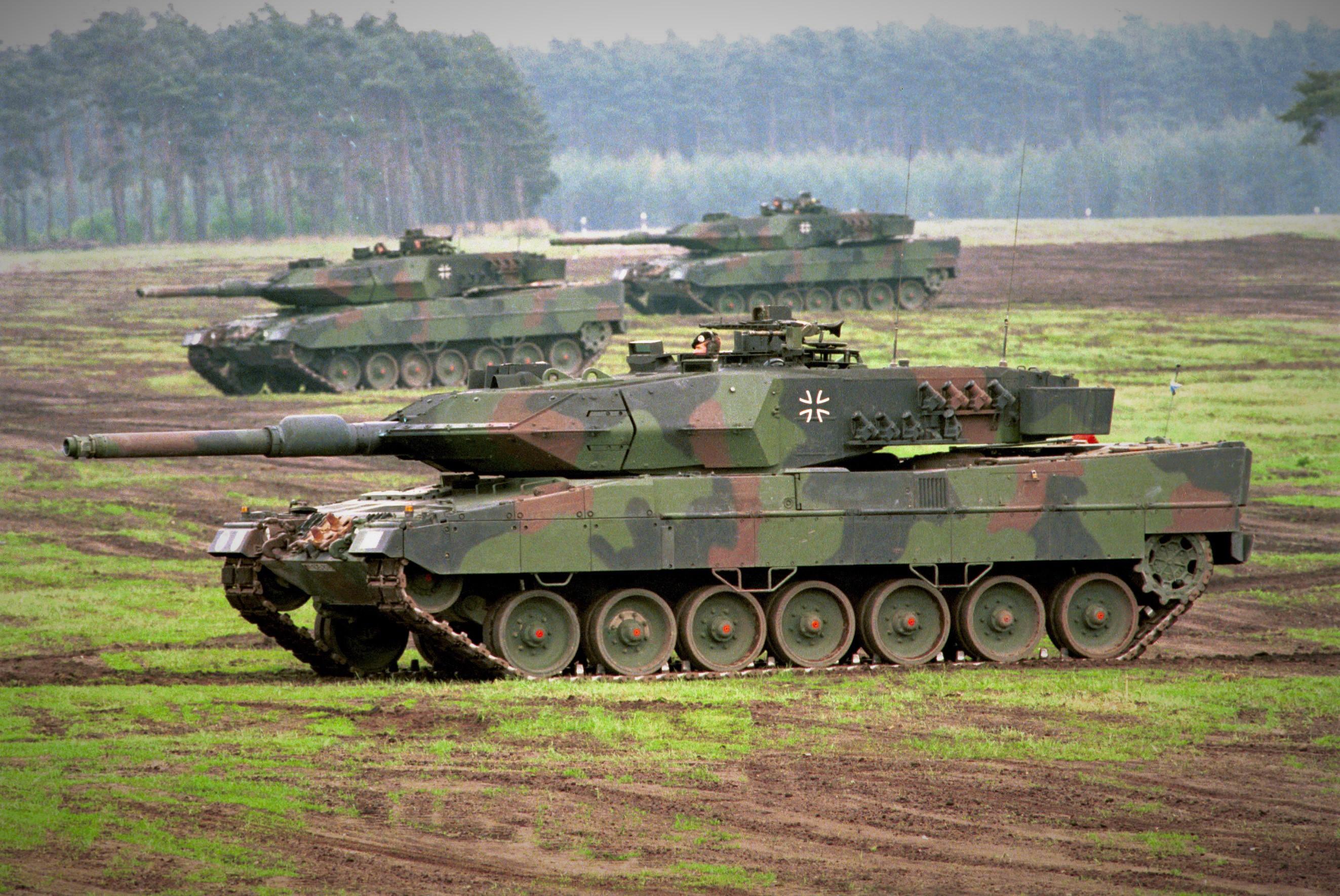 Ejército de Chile negocia la compra de tanques Leopard 2A5
