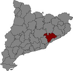 {{ca|Localització del Vallès Oriental}}