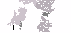 Location of (in Dutch) Susteren (in Limburgish) Zöstere