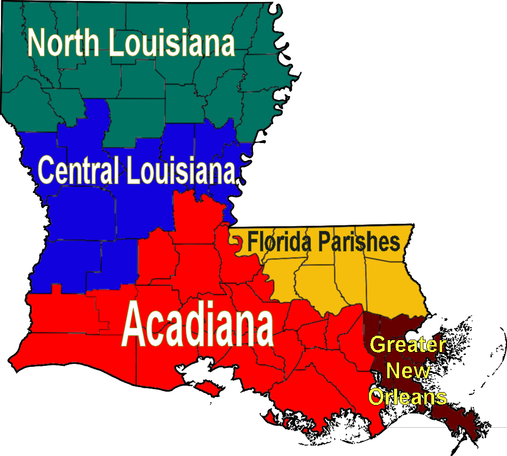 FileLouisiana Regions Mappng  Wikimedia Commons