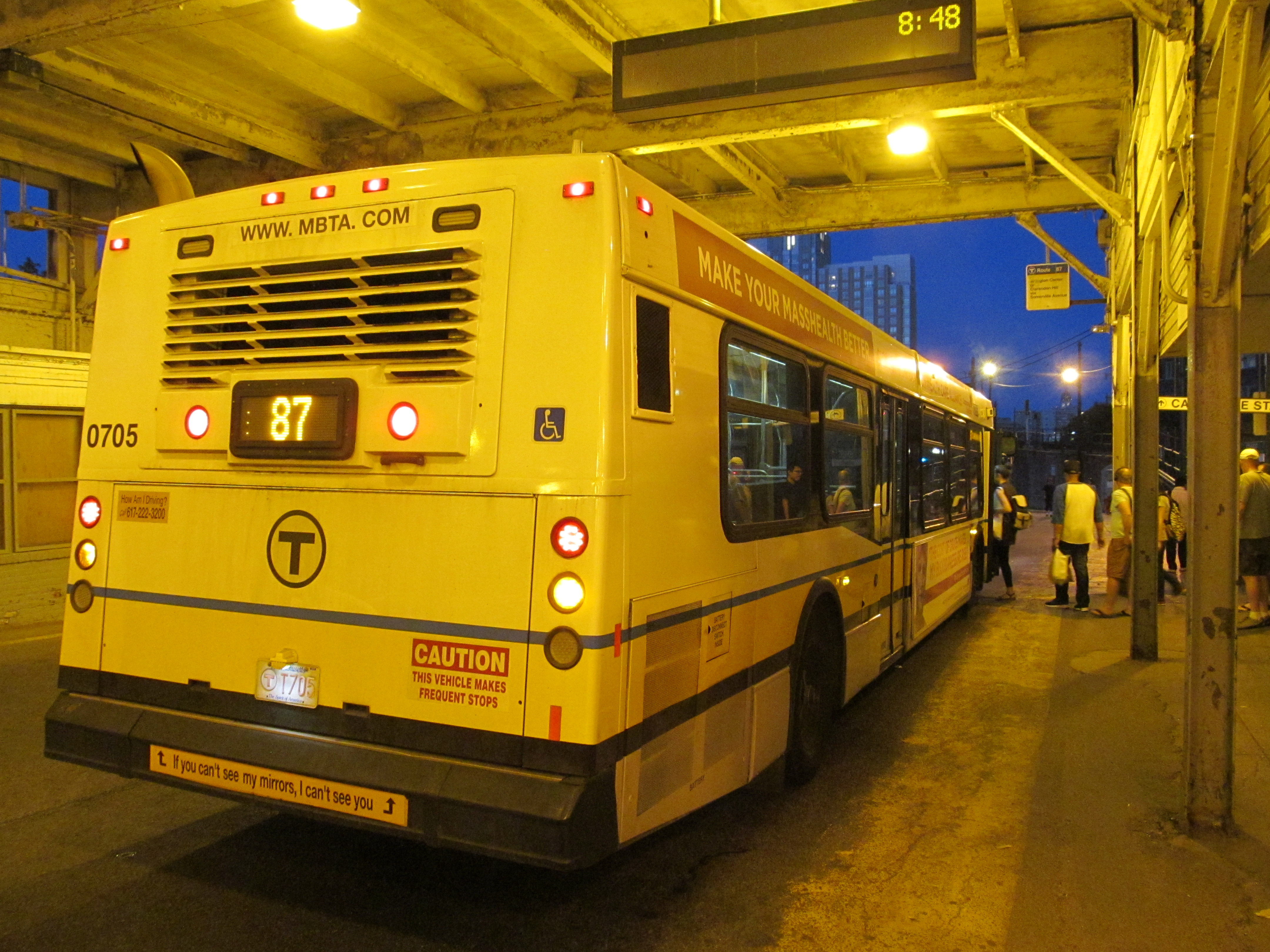 File Mbta Route 87 Bus At Lechmere Station June 2015 Jpg