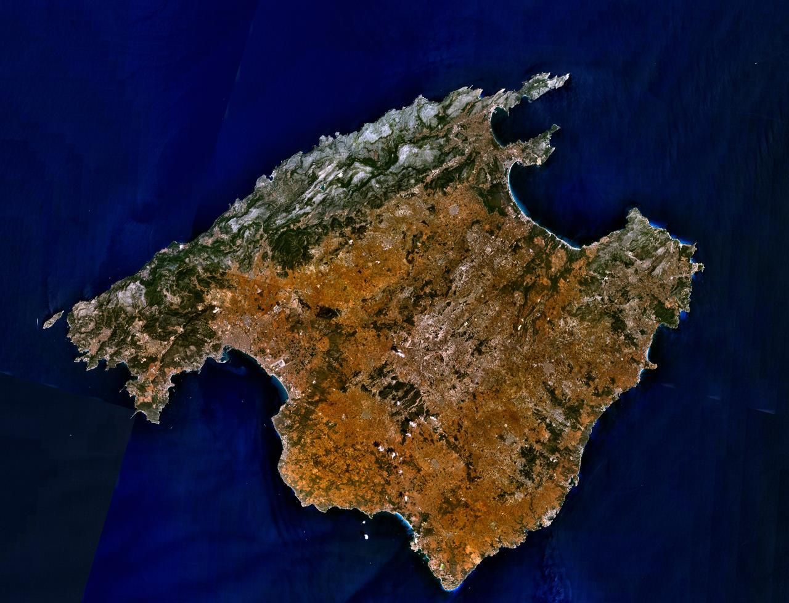 Depiction of Mallorca