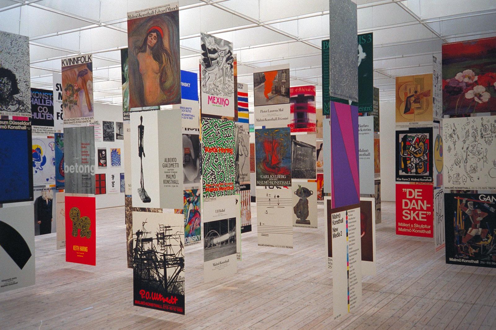 Expo dans le musée d'art contemporain de la Malmö Konsthall - Photo de Jonn Leffmann