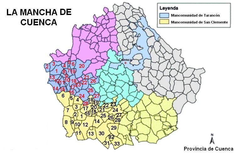 Depiction of La Mancha de Cuenca