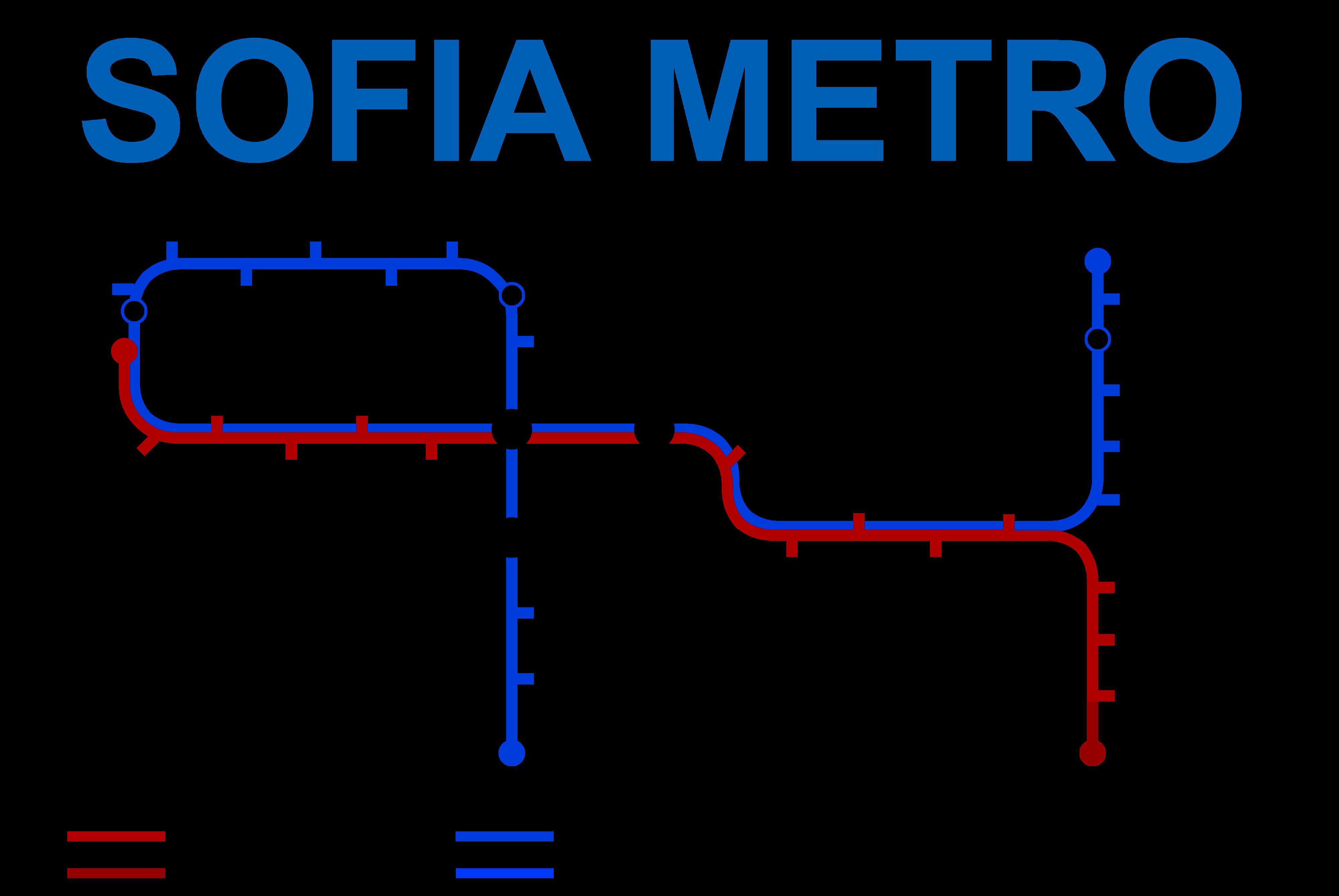 Sofia Metro Sofya metro