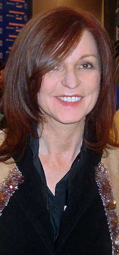 Maureen Dowd at Democratic Debate in Philadelp...