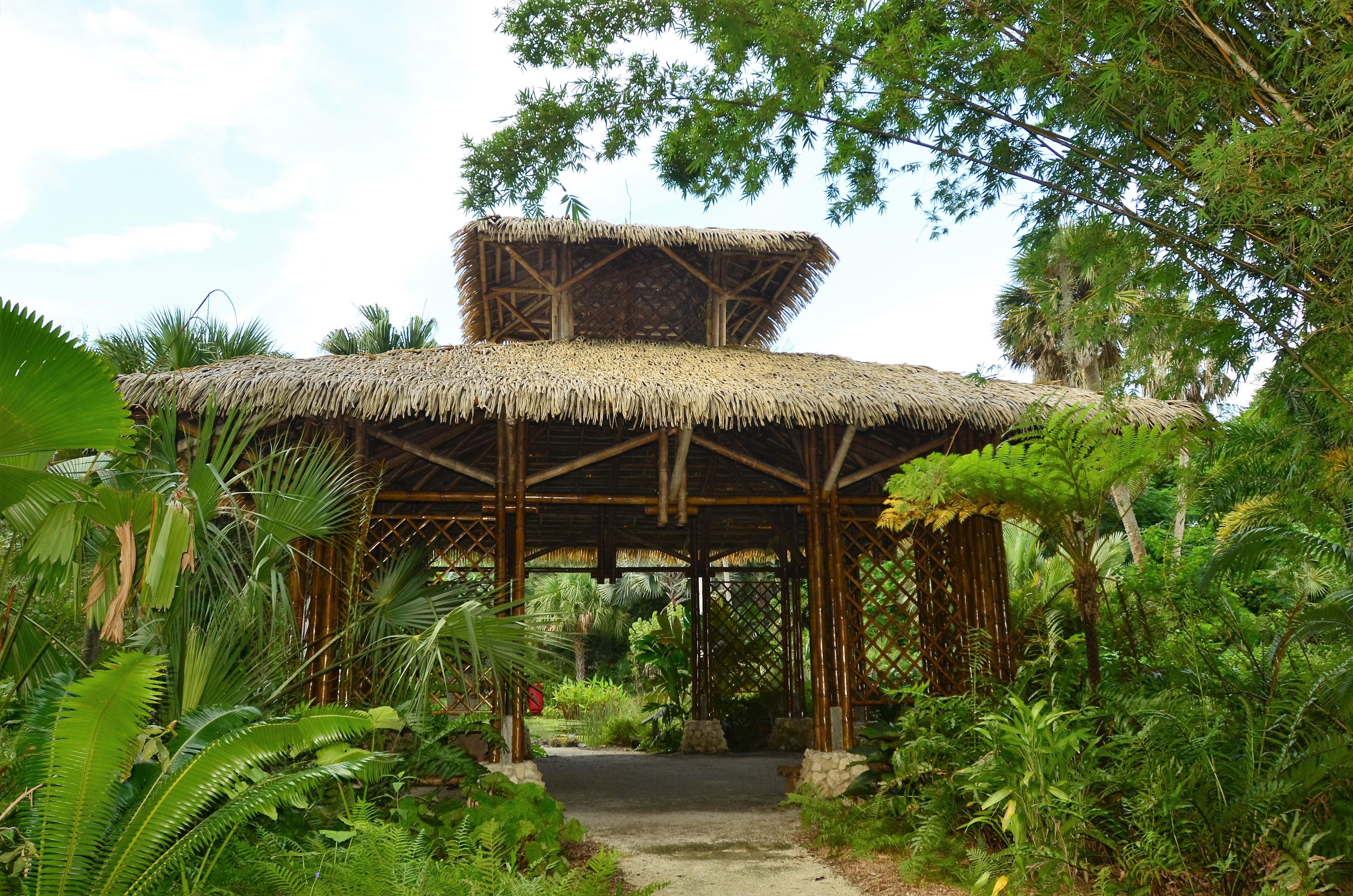 File:McKee Botanical Gardens Bamboo Pavilion 0990