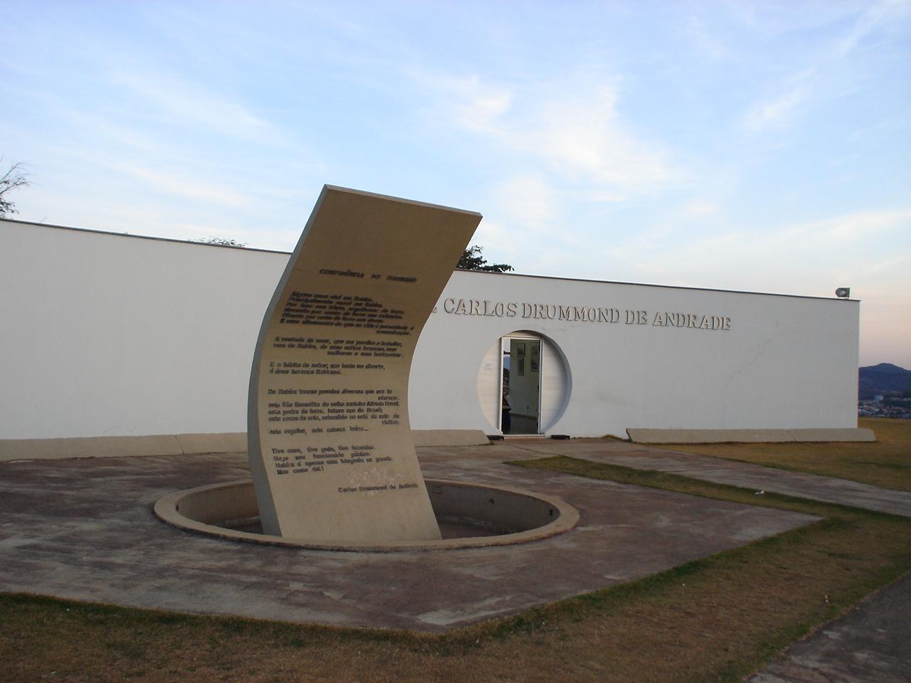Memorial Carlos Drummond de Andrade, en Itabira.