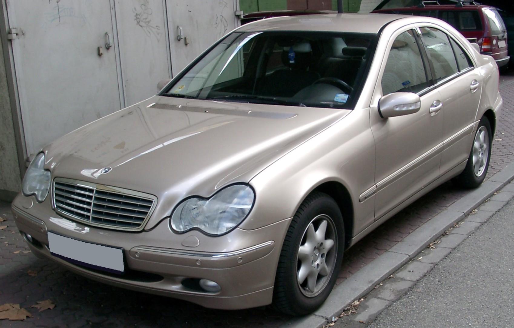 Mercedes Benz W203 Вікіпедія