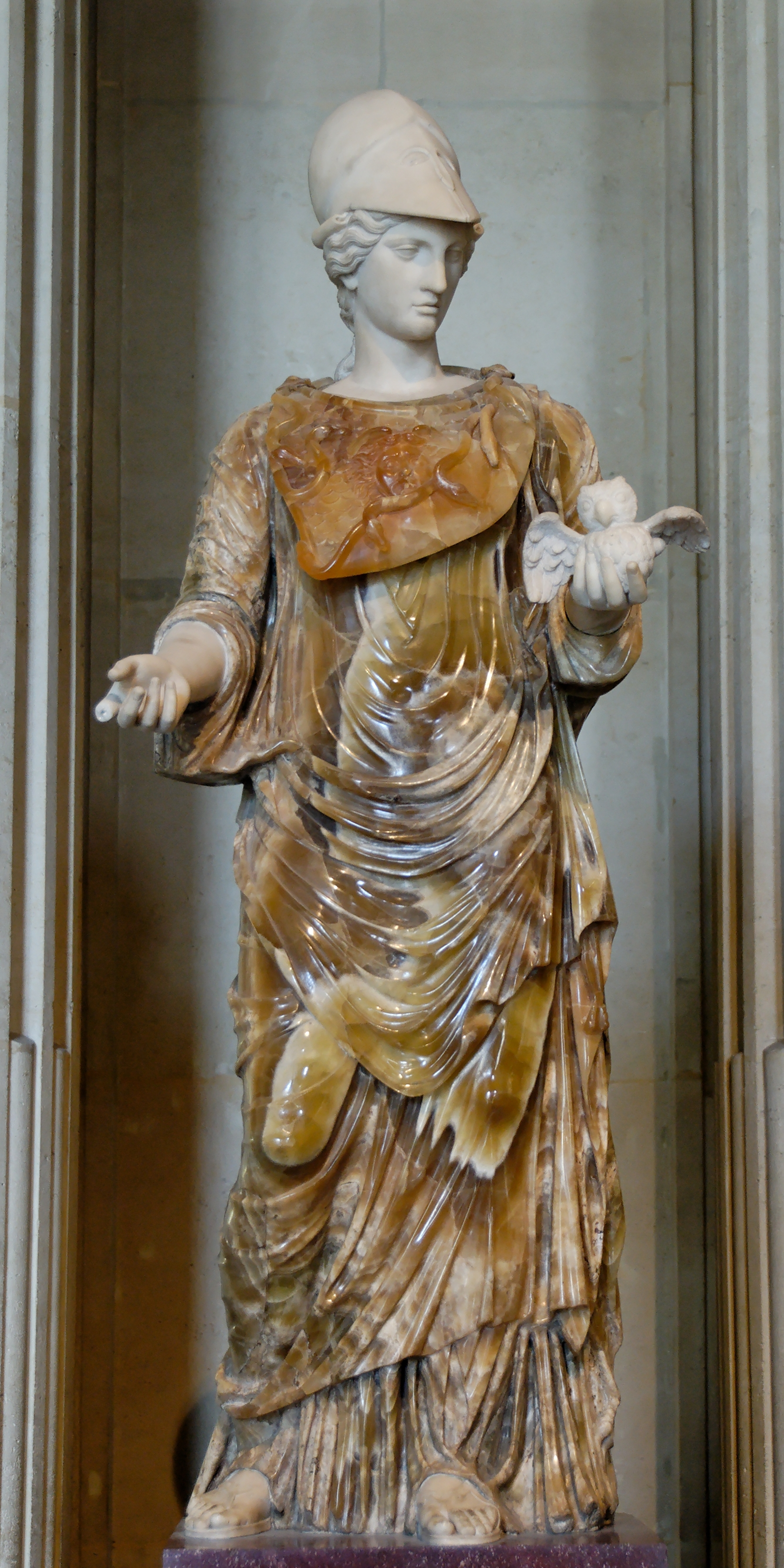 Depiction of Minerva