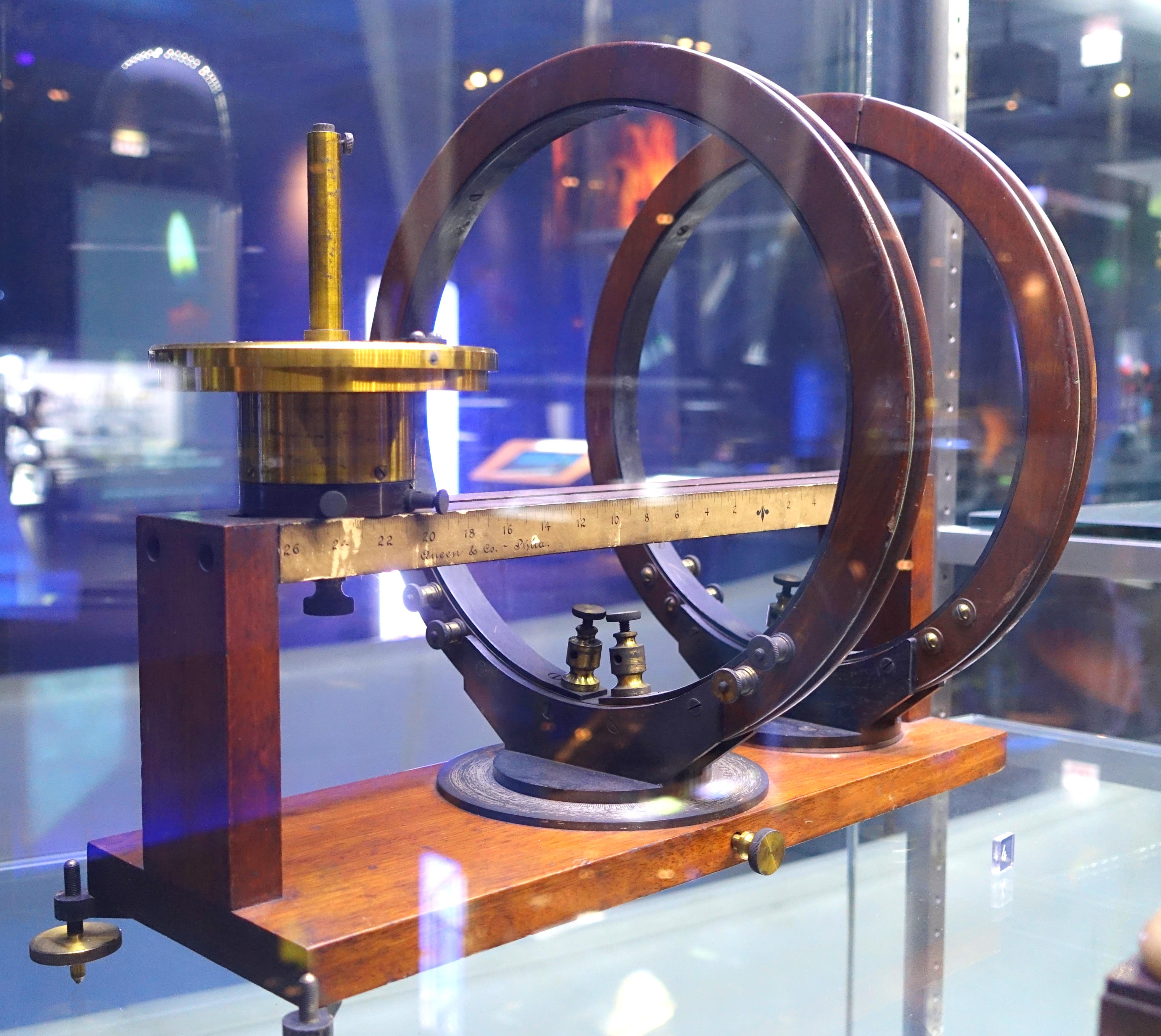 File mirror galvanometer james w queen company for 20th century motor company