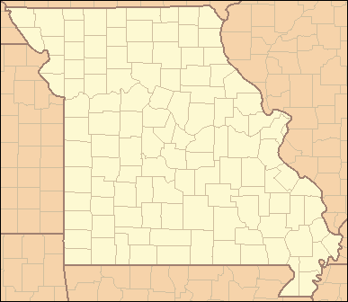 List Of Counties In Missouri Wikipedia - State of missouri map