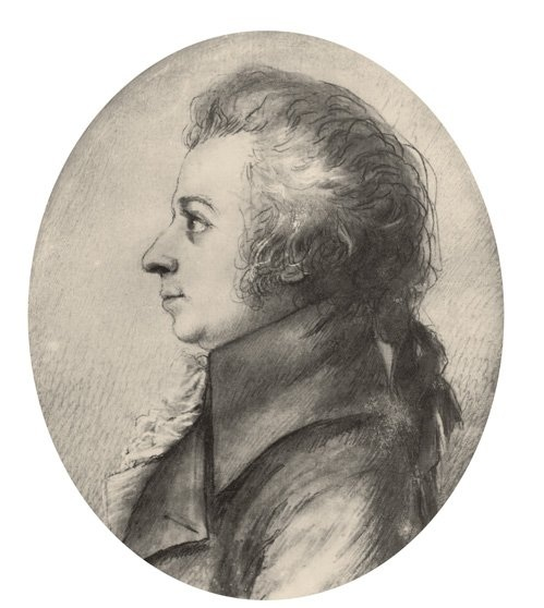 Mozart drawing Doris Stock 1789