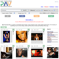 English: Munax PlayAudioVideo search page