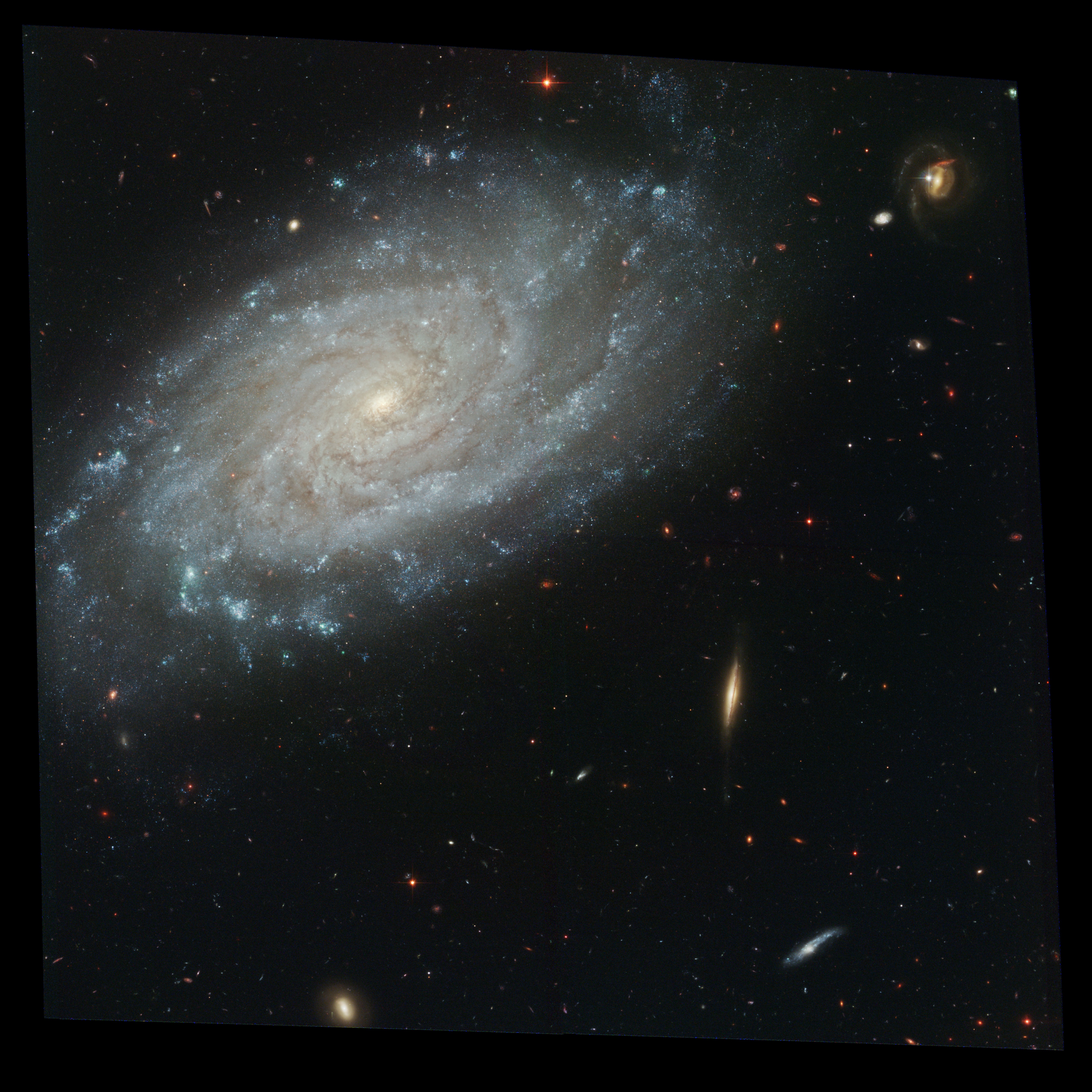 Depiction of NGC 3370