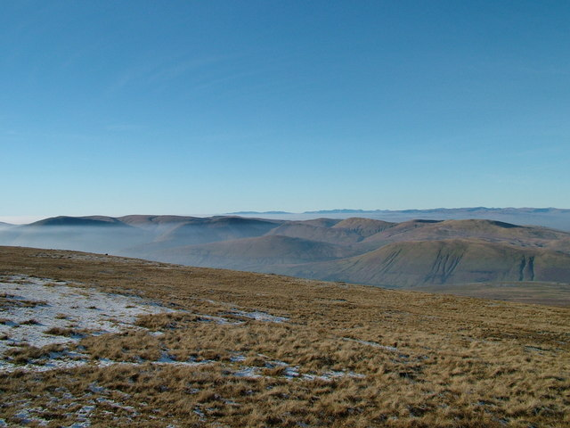Near the top of Wild Boar Fell - geograph.org.uk - 974233
