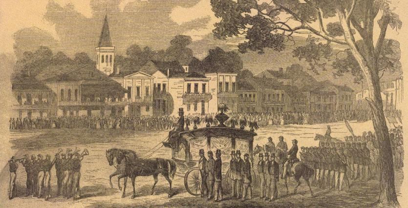 new orleans history, military funeral