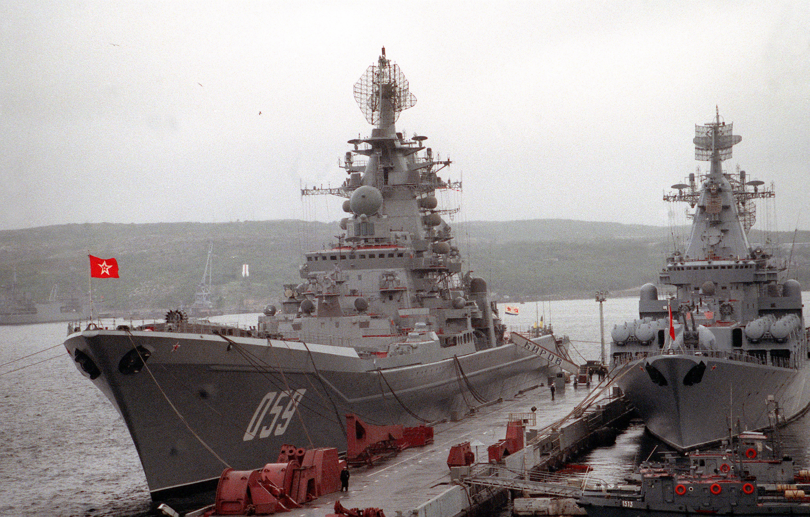 Admiral Lazarev, nuclear cruiser: history and characteristics