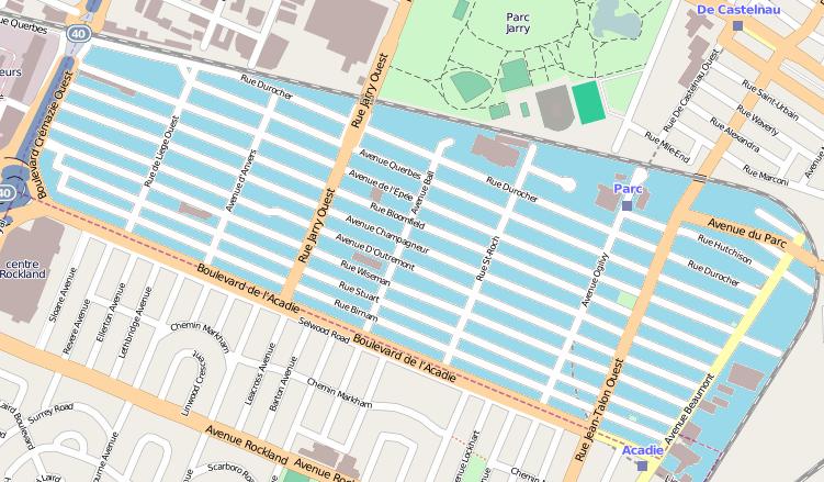 OSM-Park Extension