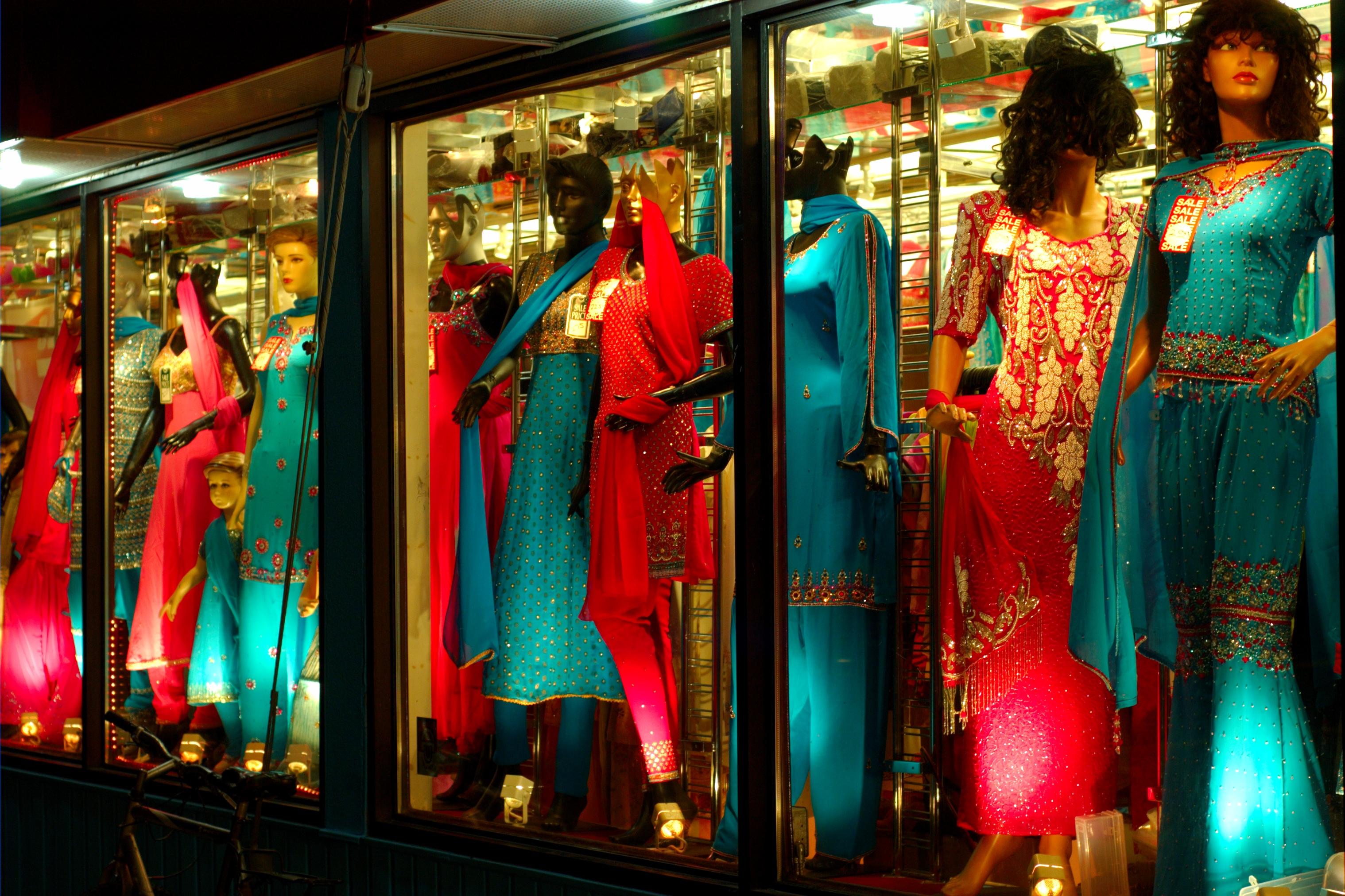 A dress store in Fancy Bazaar