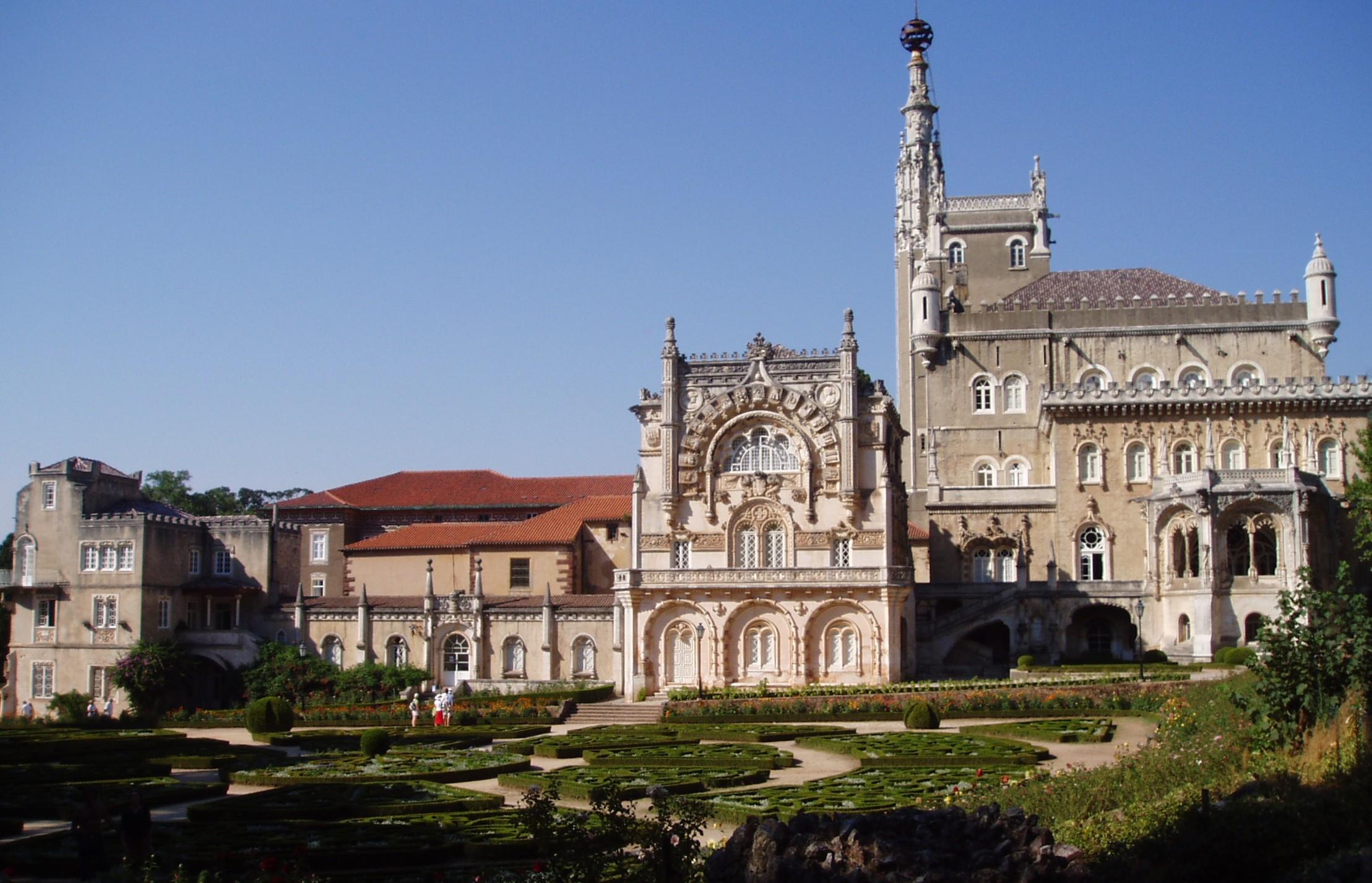 Luso Portugal  city pictures gallery : Mealhada Luso Buçaco Curia le jardin du portugal