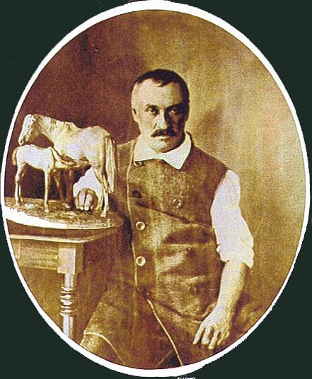 Портрет Клодта в последние годы жизни