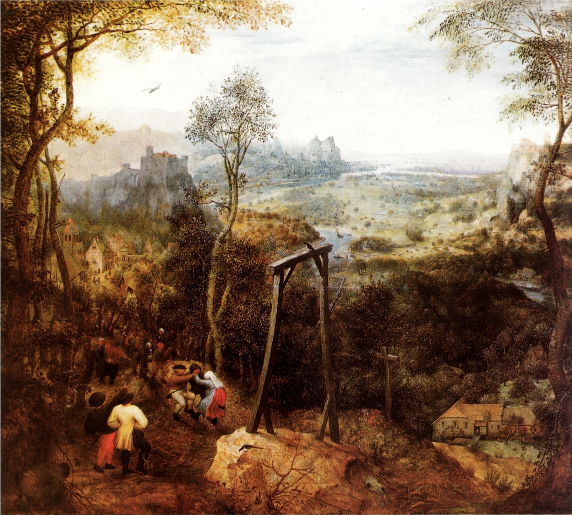http://upload.wikimedia.org/wikipedia/commons/2/24/Pieter_Bruegel_the_Elder-_The_Magpie_on_the_Gallows.JPG