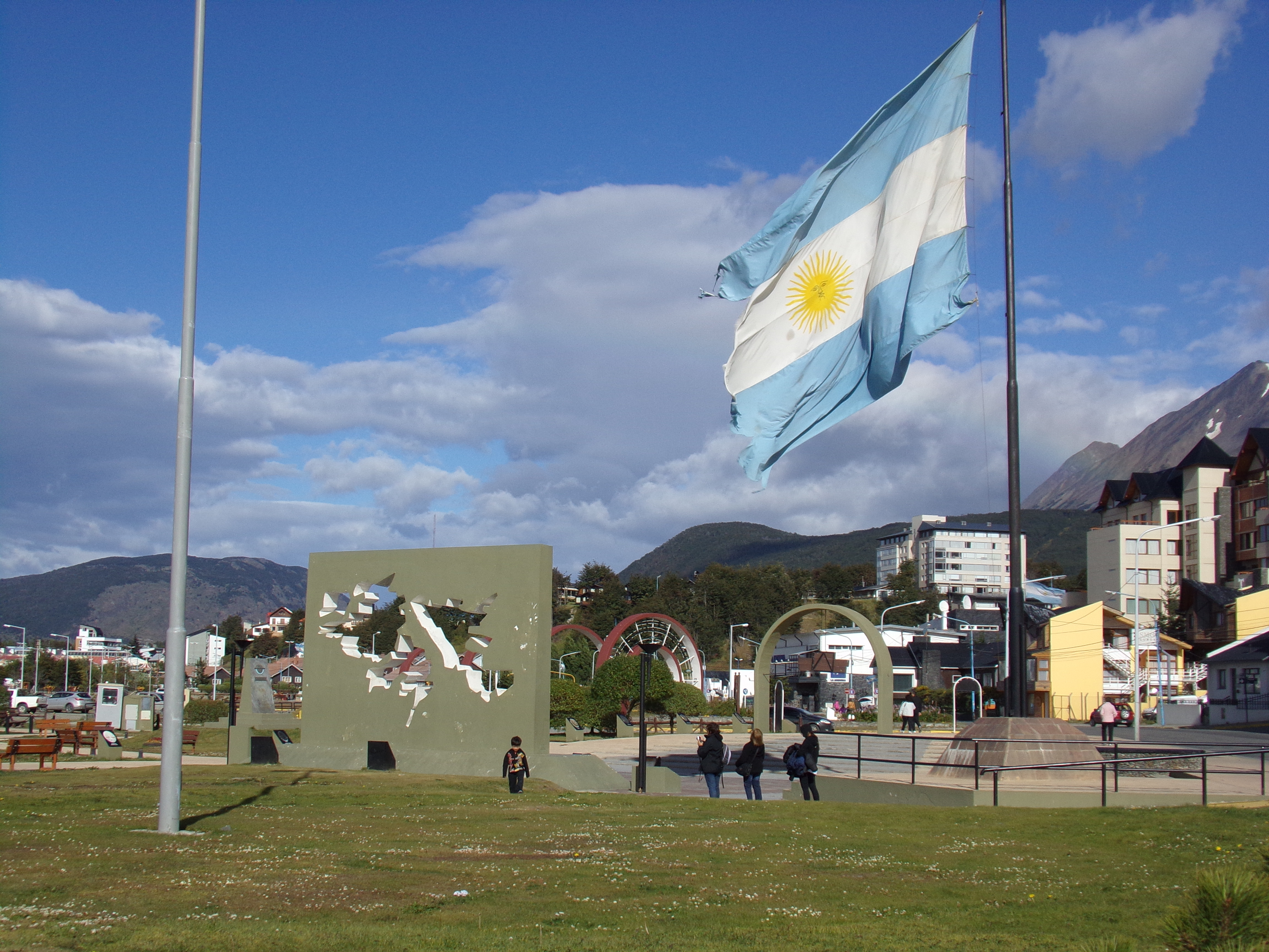 Plaza Islas Malvinas - Ushuaia