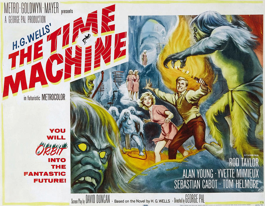 Picture of a movie: The Time Machine (1960)