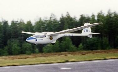 PZL PW-5 bei der Landung