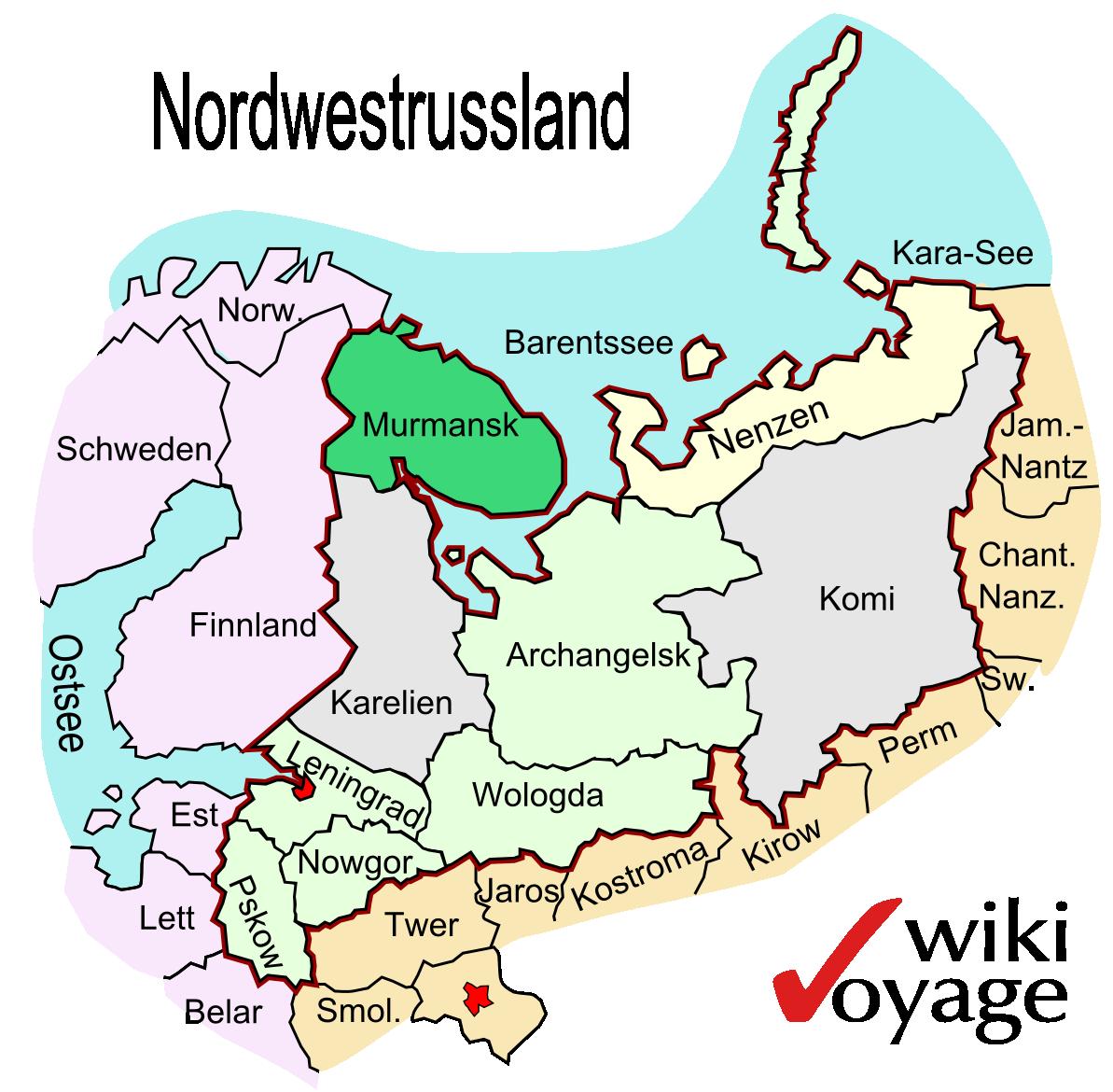 Murmansk (Oblast) – Reiseführer auf Wikivoyage