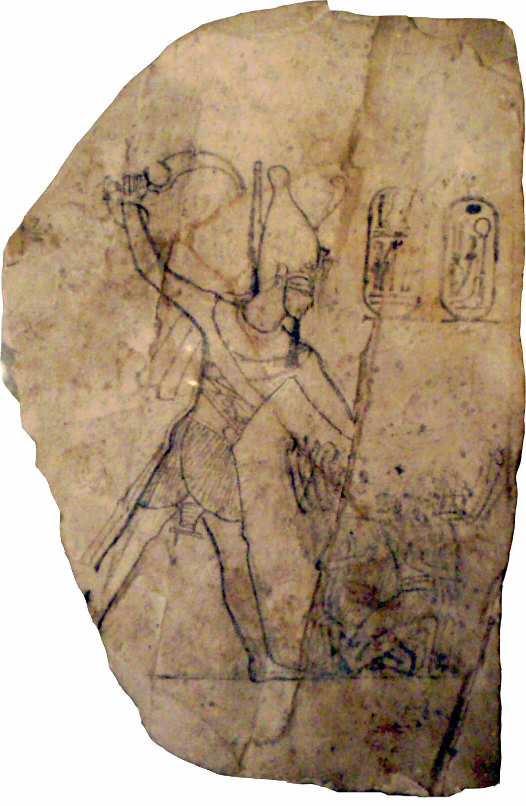 Ramessesiv Smitinghisenemiesonanostracon Museumoffineartsboston Ramesses Iv Wikipedia
